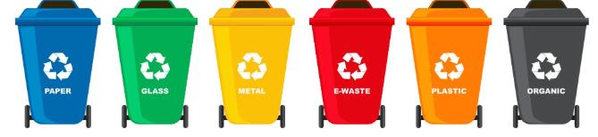 Characteristics of Trash Cans