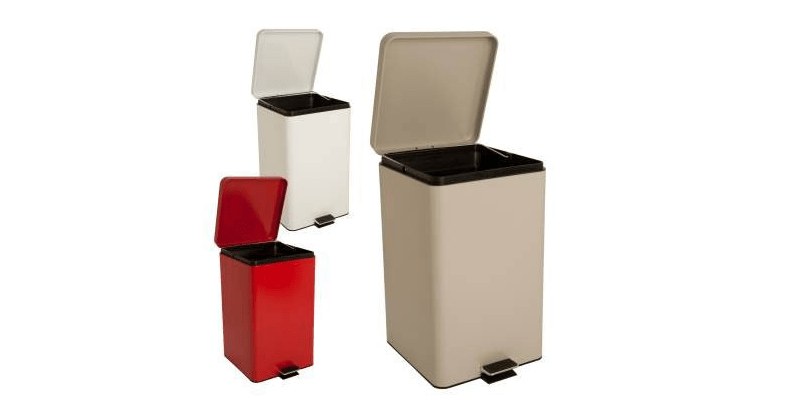 color trash can