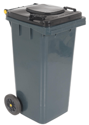 garbage can with wheel 32 gallon