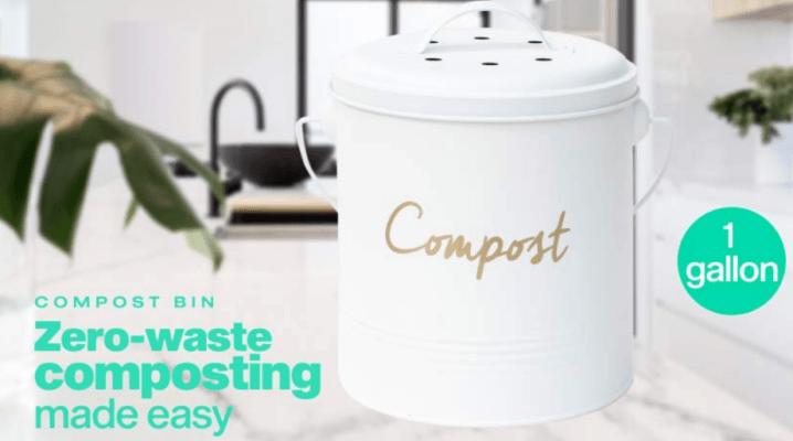 odorless kitchen compost bin